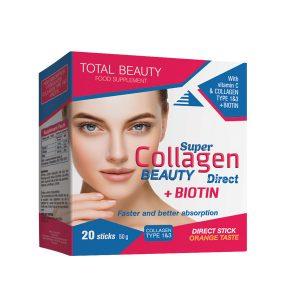 Super Collagen Beauty Direct + Biotin 20 kesica