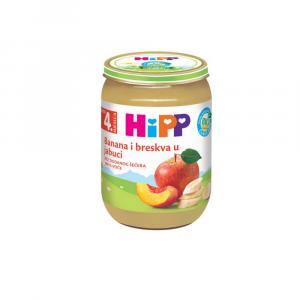 Hipp kašica banana-breskva-jabuka