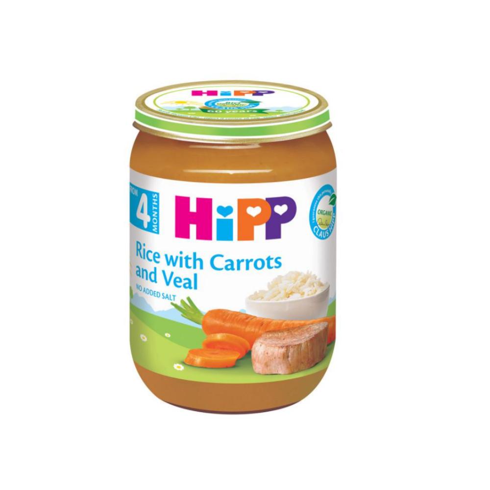 HIPP MASH VEAL, RICE, CARROT