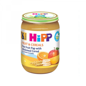 HIPP MASH CEREALS AND FRUIT 190G