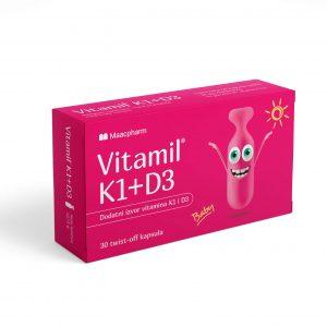 Vitamil K1+D3 Proizvod za posebnu medicinsku namenu.