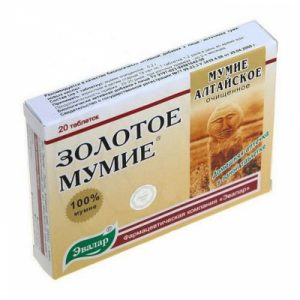 Mumie altajske tablete