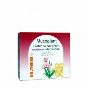 Mucoplant Pastile sa borovnicom, medom i vitaminom C