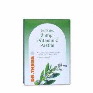 Dr. Theiss Žalfija i vitamin C Pastile