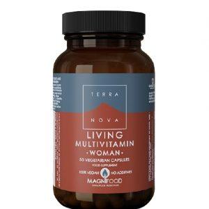 Living multivitamin za žene A50 cps