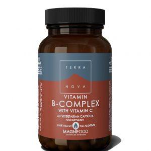 Terranova B kompleks sa vitaminom C A50 cps