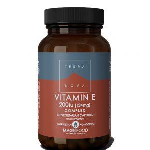 Terranova Vitamin E 200 i.j. A50 cps