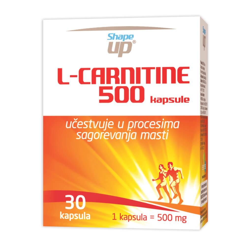 L-CARNITINE 500 CAPS A30