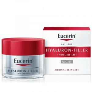 Eucerin Hyaluron-Filler + Volume-Lift Noćna krema 50 ml