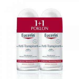 Eucerin antipersiprant strong 50ml 1+1 gratis