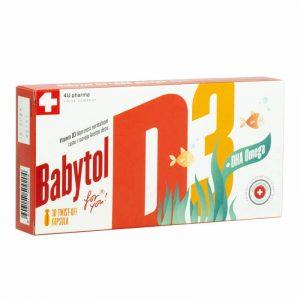 Babytol D3 + Omega 3 A30