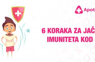6 koraka za jačanje imuniteta kod dece